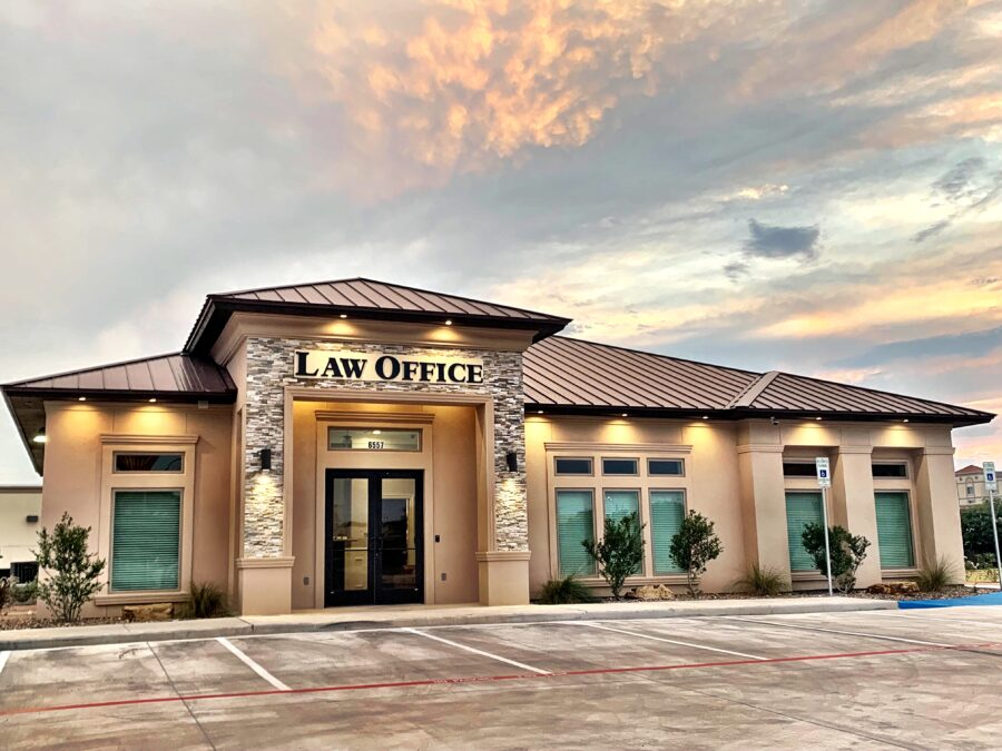Street view of The Law Office of Oscar A. Vela Jr., P.C.